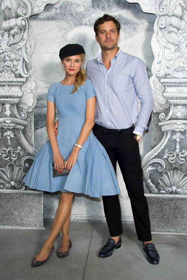 Diane Kruger and Joshua Jackson.