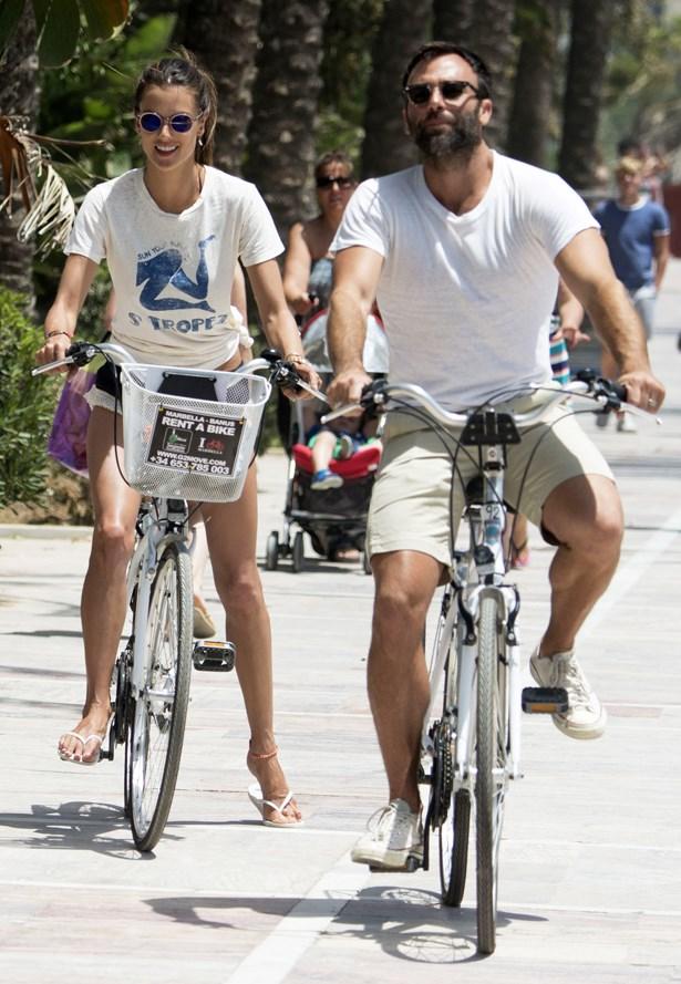 Alessandra Ambrosio and Jamie Mazur.