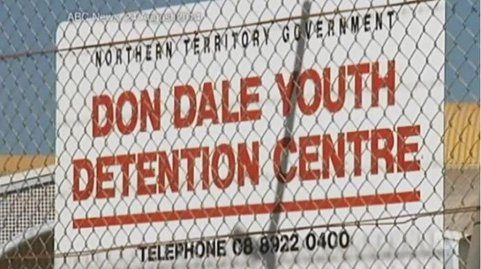 don dale youth detention centre; image source four corners/abc