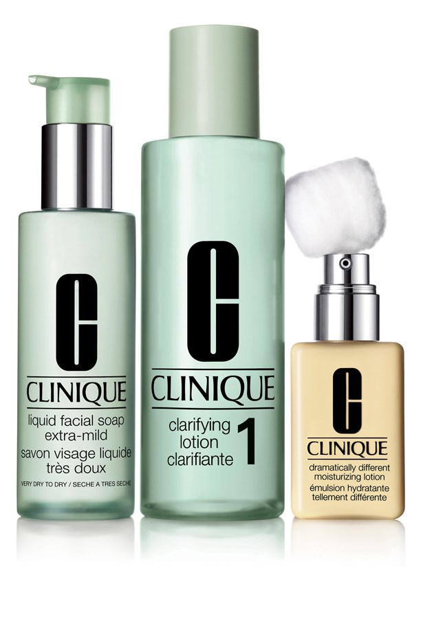 """<p><strong>Liquid Facial Soap, $25, Clarifying Lotion, $29, and Dramatically Different Moisturizing Lotion, $29, Clinique, clinique.com.au</strong></p> <p>""""I don't use any specific anti-ageing products (very naughty of me), but I do swear by Clinique's 3-Step system. It's given my skin a boost of hydration and made it less congested, and I think (hope) healthy skin is younger-looking skin."""" - Laura Culbert, Acting Chief Sub Editor</p>"""