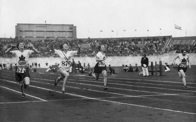 <P> <strong>1936, BERLIN: GENDER TESTING, AND A TWIST</strong><p> <p> In 1936, defending 100-meter dash gold medalist Stella Walsh of Poland lost the race to American Helen Stephens. Walsh's supporters weren't exactly good sports: They responded by crying out that Stephens's time was simply too fast for a woman, and demanded that a gender examination be performed. Stephens submitted to the humiliating test, letting the Olympic committee perform a physical examination to confirm that she was a woman. The story doesn't totally end there, crazily enough. Decades later, Stella Walsh was shot to death outside a Cleveland shopping mall in 1980, and when they performed an autopsy, it was discovered that Stella Walsh, actually, had male genitalia—not Helen Stephens.