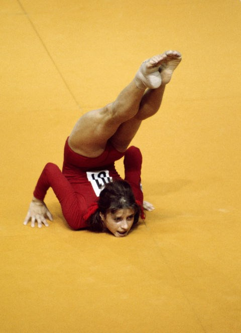 <P> <strong>1976, MONTREAL: A SCORE OF WHAT NOW?</strong><p> <p> The year Romanian Nadia Comaneci became the first gymnast to score  a perfect 10 in an Olympic gymnastics event. It was such an unprecedented feat that they didn't even have a way to relay what had happened, with the score registering as '1.00' on the electronic scoreboard because 9.99 was the board's limit!