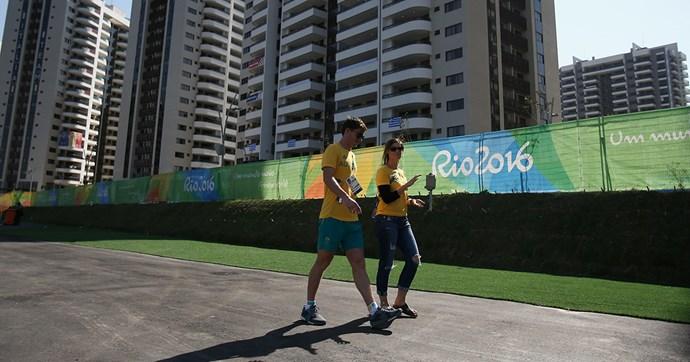 australian olympians evacuated