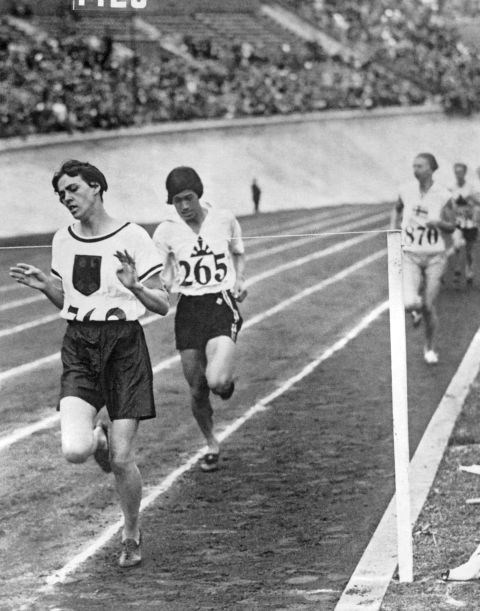 <p> <strong>1928</strong><p> <p> The women's 800 meter race in Amsterdam, Netherlands. This is the first year women are allowed to compete in track and field, following pressure from women's leagues as rights for women expand throughout the world.