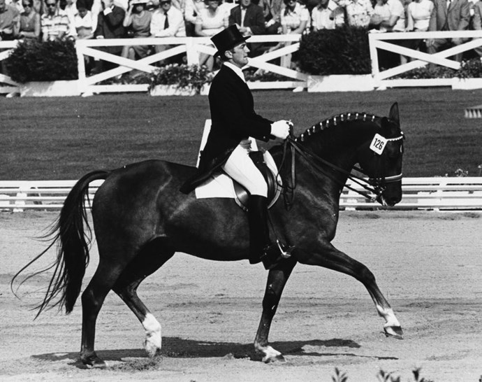<p> <strong>1972</strong><p> <p> East German equestrian Horst Koehler and his horse Emanuel at the games in Munich.