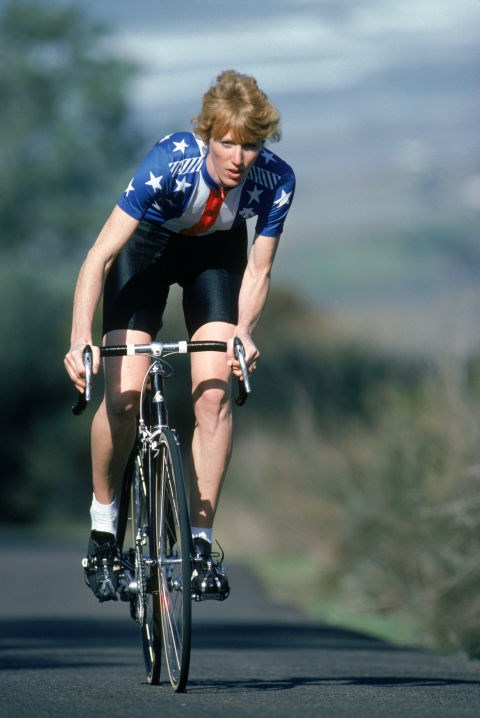 <p> <strong>1984</strong><p> <p> American cyclist and gold-medalist Connie Carpenter-Phinney at the games in L.A.