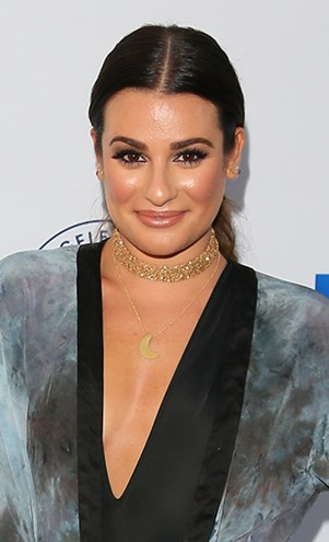 Lea Michele on Red Carpet