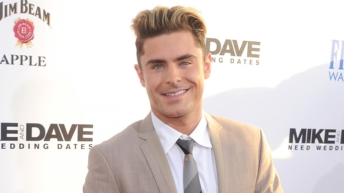 Zac Efron at Mike and Dave Need Wedding Dates Premiere