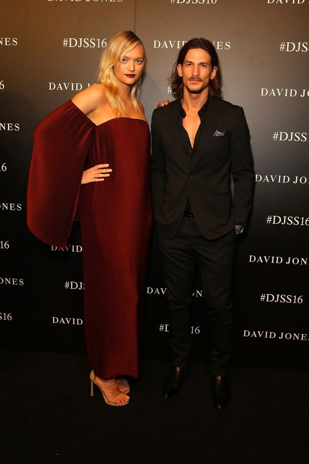 Gemma Ward and Jarrod Scott