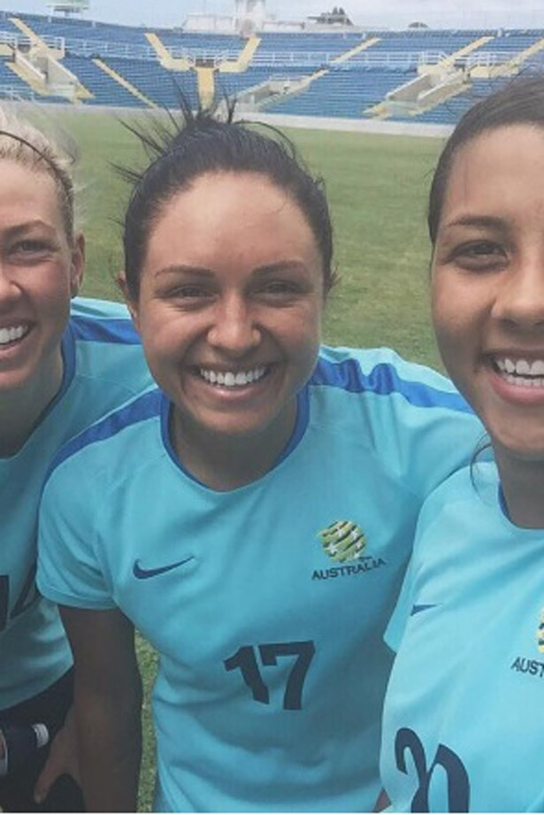 australian olympic team snap chat