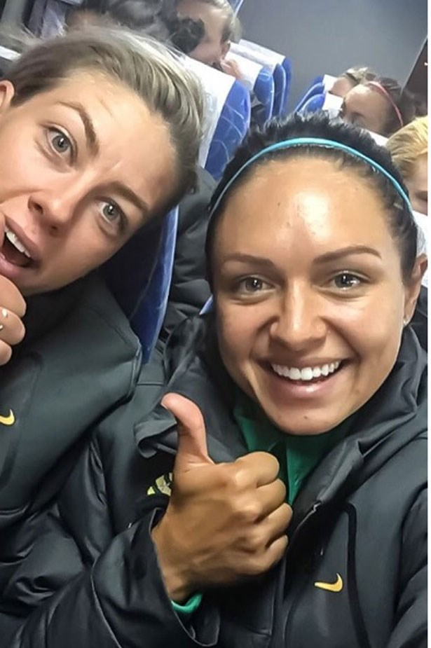 <p><strong>Kyah Simon - Soccer</strong></p> <p>kyahsimon</p> <p>Kyah's Snaps of her time off the football field will make you feel like you're in Rio, too.</p>