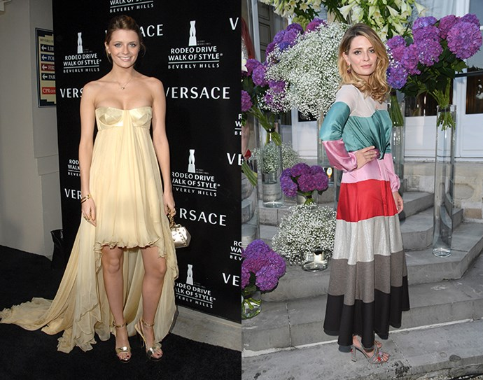 <strong>Mischa Barton</strong> <br><br> When she left <em>The O.C.</em> in 2006, not only were we all devastated but she was also the most recognisable, leading to a string of television appearances. But with a rocky turn in her personal life, her career slowed down. Now, you're more likely to see her in the front row rather than on TV.