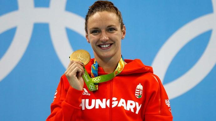 katinka hosszu gold medal rio olympics individual medley world record