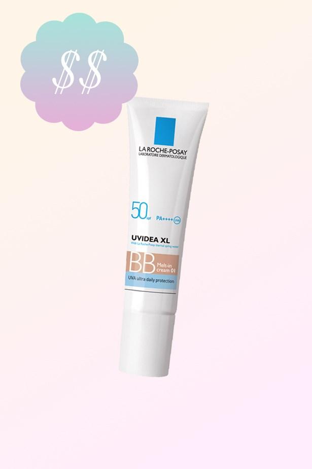 """Uvidea XL Melt-In BB Cream, $33.99, <a href=""""https://www.priceline.com.au/brand/la-roche-posay/la-roche-posay-uvidea-xl-melt-in-bb-cream-spf-50-30-ml"""">La Roche-Posay at priceline.com.au</a>."""