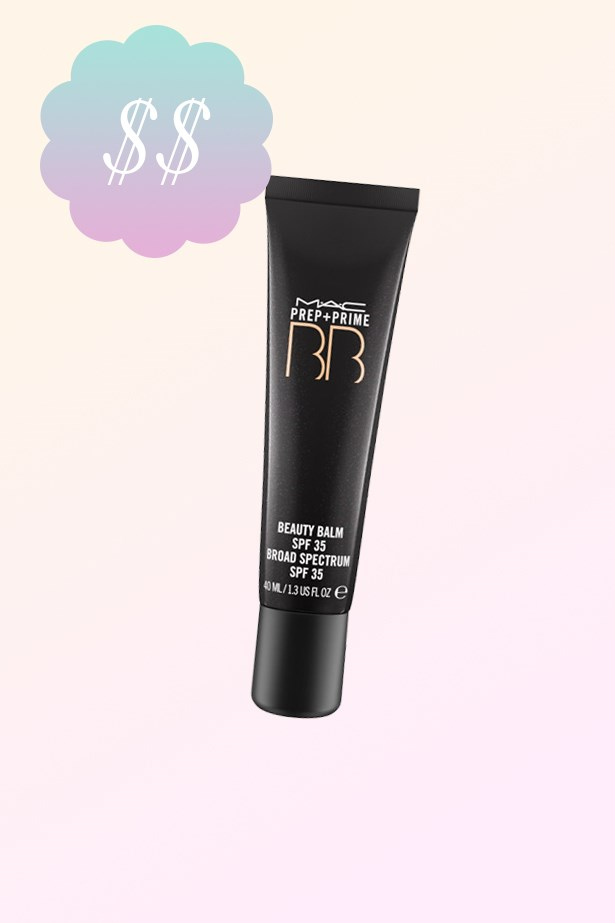 "Prep + Prime BB Beauty Balm, $44, <a href=""http://www.maccosmetics.com.au/product/14771/17377/Products/Skincare/BB-CC/Prep-Prime-BB-Beauty-Balm-SPF-35#/shade/Light"">MAC</a>."