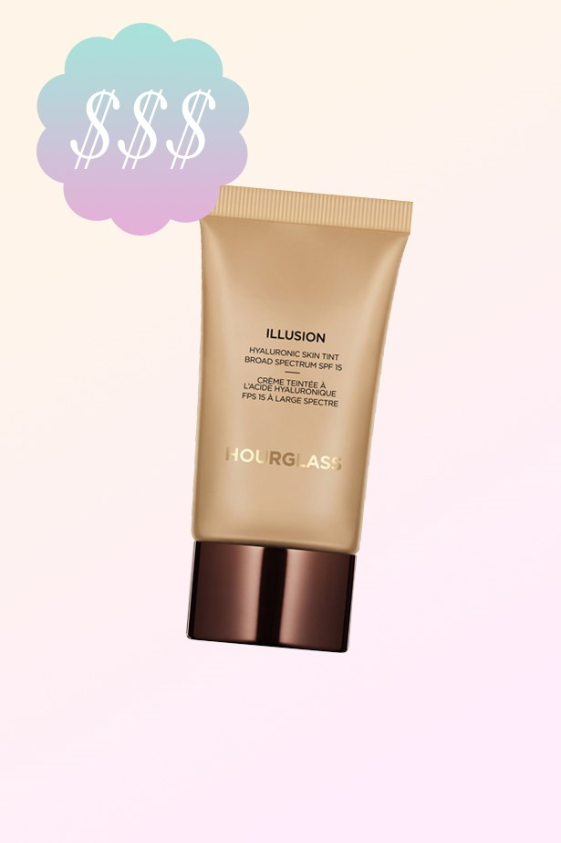 """Illusion Hyaluronic Skin Tint, $83, <a href=""""http://mecca.com.au/hourglass/illusion-hyaluronic-skin-tint/V-022068.html"""">Hourglass at mecca.com.au</a>."""