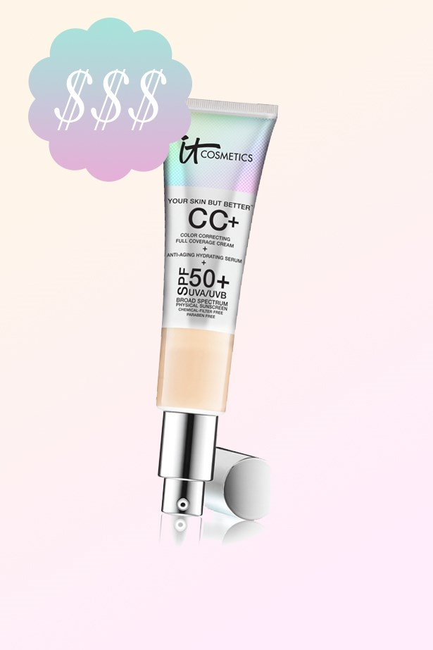 """Your Skin But Better CC Cream, $58, <a href=""""http://www.sephora.com.au/products/it-cosmetics-your-skin-but-better-cc-cream-with-spf-50-plus"""">IT Cosmetics at sephora.com.au</a>."""