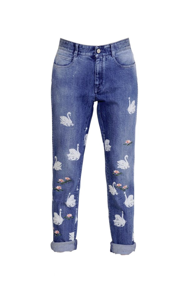 "Jeans, $960, <a href=""http://www.luisaviaroma.com/stella+mccartney/women/jeans/64I-AAE016/lang_EN/colorid_NDExMA2"">Stella McCartney at luisaviaroma.com</a>."