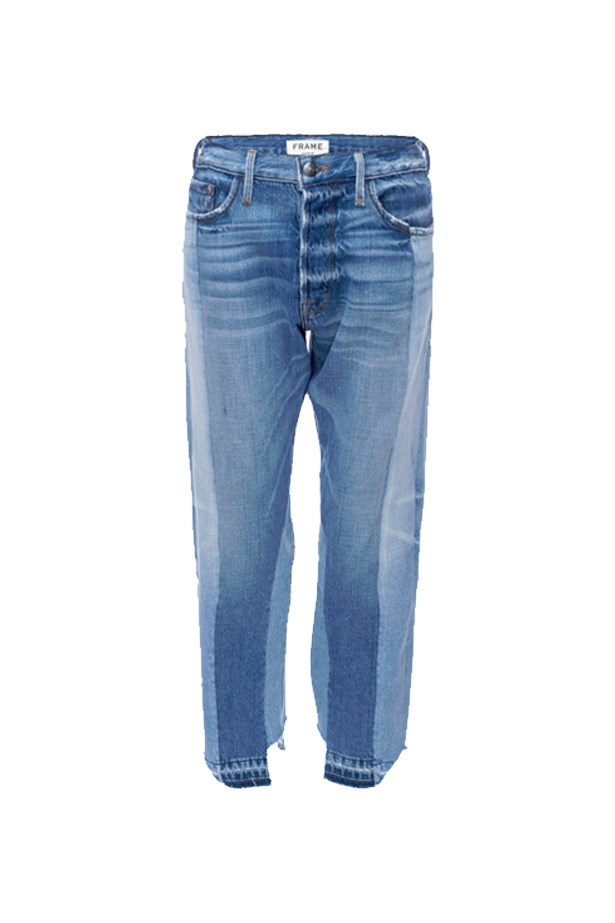 "Jeans, $589, <a href=""https://www.frame-store.com/womens/nouveau-le-mix-lojx207-mam.html"">Frame Denim</a>."