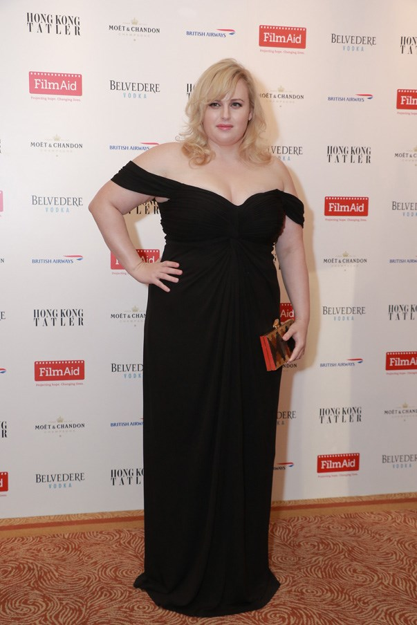 """""""I wouldn't ever want to compete with what I call 'the glamours'—the really gorgeous people. I'm about the brain, the heart and what's on the inside. I feel really lucky to be the body type I am.""""—<a href=""""http://www.eonline.com/au/news/719951/rebel-wilson-talks-body-image-friendship-with-jennifer-lawrence-and-sex-scenes-with-sacha-baron-cohen"""" target=""""_blank"""">Rebel Wilson</a>"""