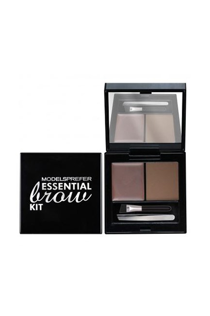 "Essential Brow Kit, $12.99, <a href=""https://www.priceline.com.au/models-prefer-essential-brow-kit-1-kit"" target=""_blank"">Models Prefer at priceline.com.au</a>."