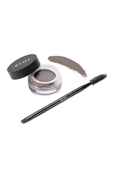 "Brow Pomade, $14.99, <a href=""http://www.ry.com.au/ardell-pro-brow-pomade-dark-brown-3-2g.html"" target=""_blank"">Ardell at ry.com.au</a>."