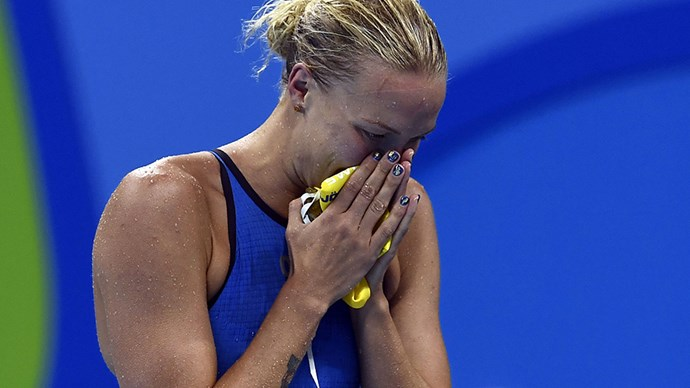 <strong>Sarah Sjostrom, swimming, Sweden</strong><br> Gold-flecked strokes led Sjostrom all the way to her record-breaking win.