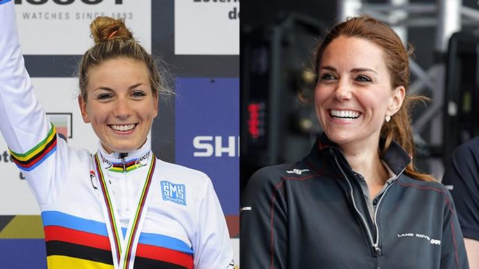 Kate Middleton and Pauline Ferrand-Prevot Look Similar