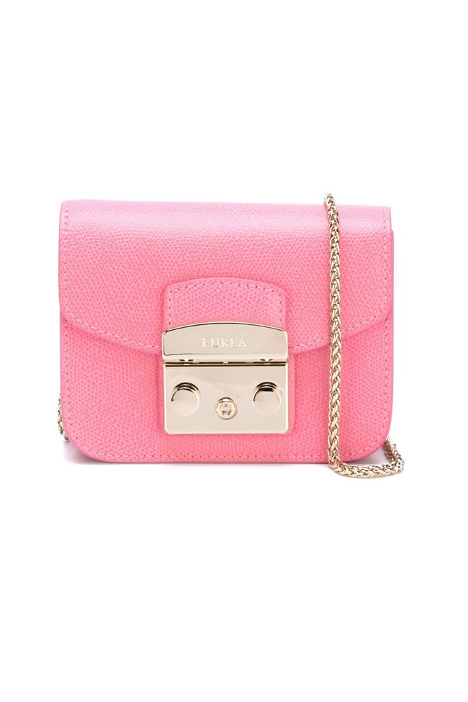 "<strong>Furla</strong><br> <a href=""http://www.farfetch.com/au/shopping/women/furla-mini-metropolis-crossbody-bag-item-11436108.aspx?storeid=9475&from=1&ffref=lp_pic_10_4_"">Bag, $264, Furla at farfetch.com</a>"
