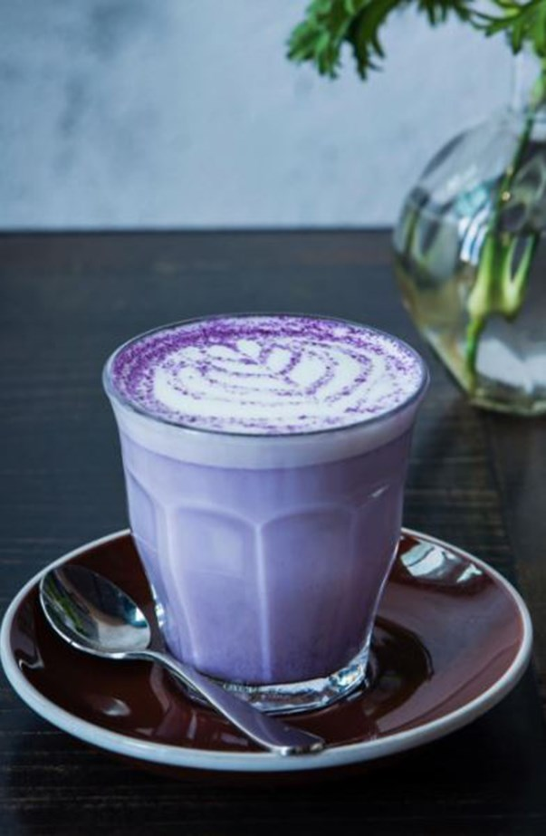 Purple Taro Latte