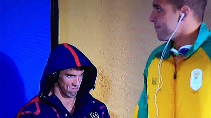 Michael Phelps Face meme.