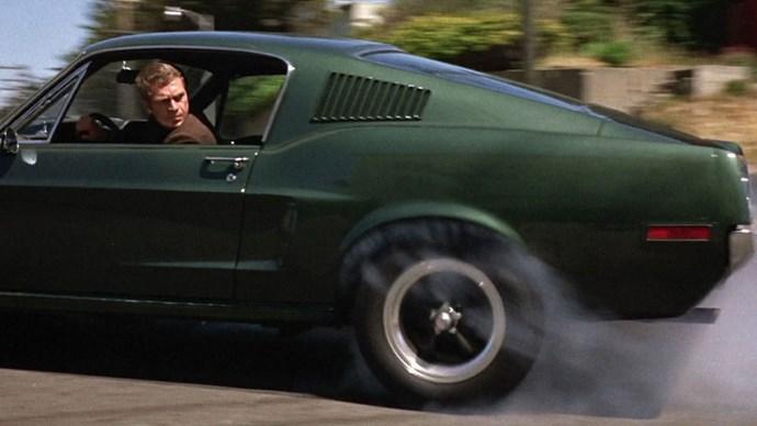 The ever-suave Steve McQueen in <em>Bullitt</em> (1968).