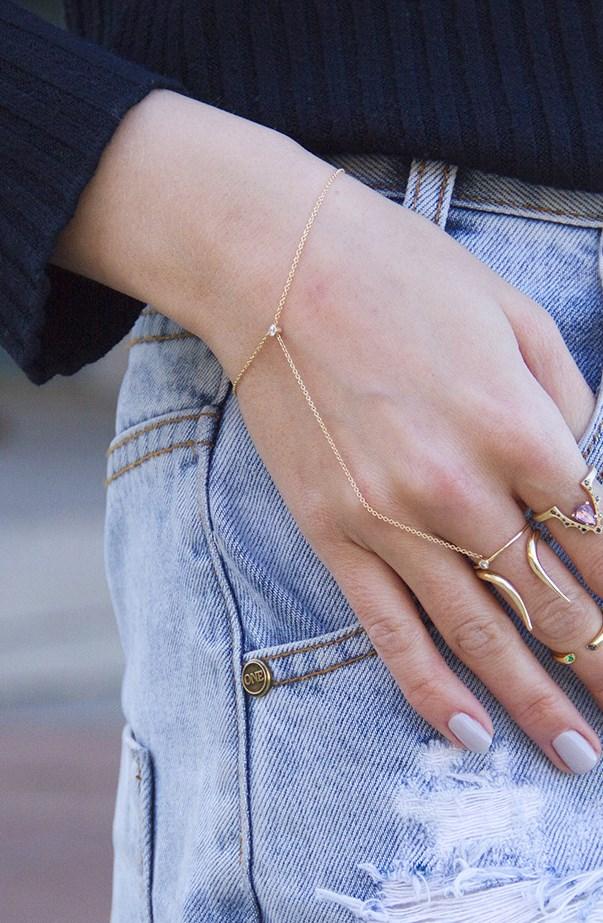 Street Style Gold Bracelet