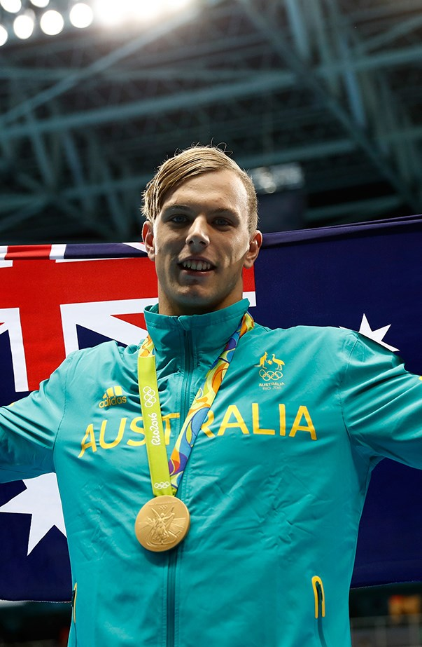 Kyle Chalmers Wins Gold Swimming 2016 Olympics