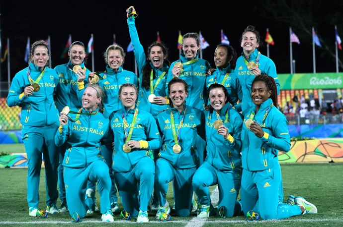 Australia won the women's rugby sevens final, which also marked the first time the sport had ever featured at the Olympics.
