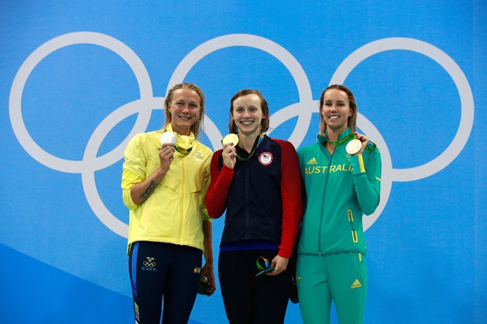 Emma McKeon won a bronze medal in the women's 200m freestyle final.