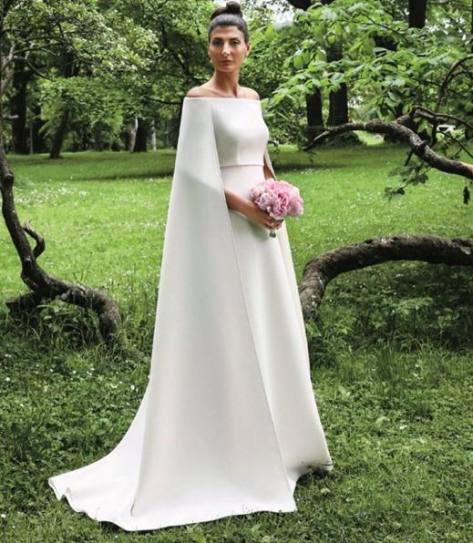 Valentino Wedding Dresses: Giovanna Battaglia Wears Valentino For Her Civil Ceremony