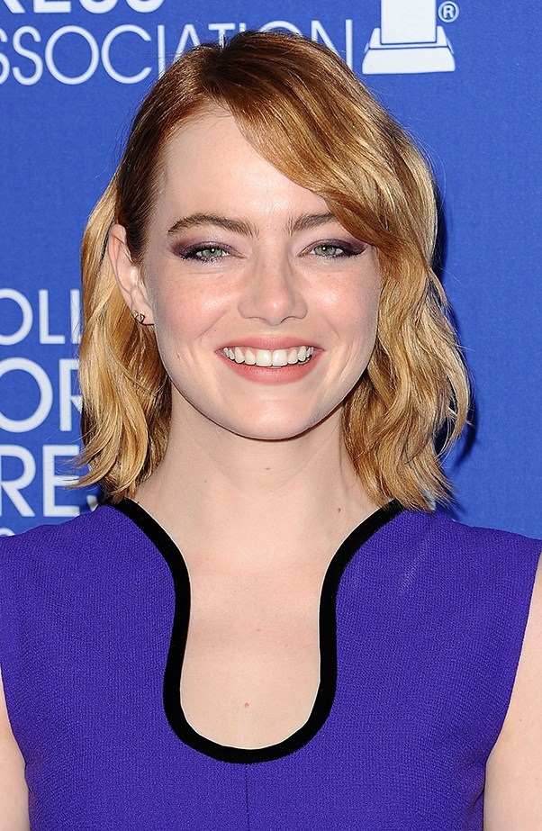 <p><strong>Emma Stone</strong> <p>Emma is one of the poster girls for loving your fair skin and freckles.