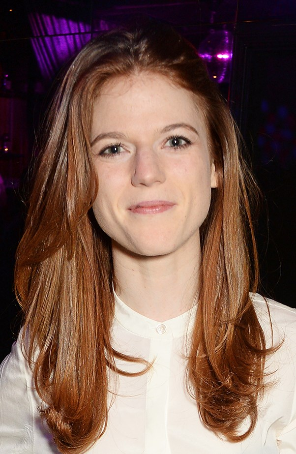 <p><strong>Rose Leslie</strong> <p>The former <strong>Game of Thrones</strong> beauty has fair features and cute freckles.