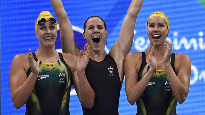 Australian Female Swimmers at 2016 Rio Olympics