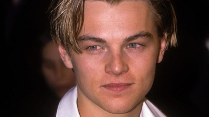 Leonardo DiCaprio in 1996