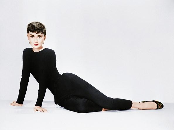 Audrey Hepburn's black flats.