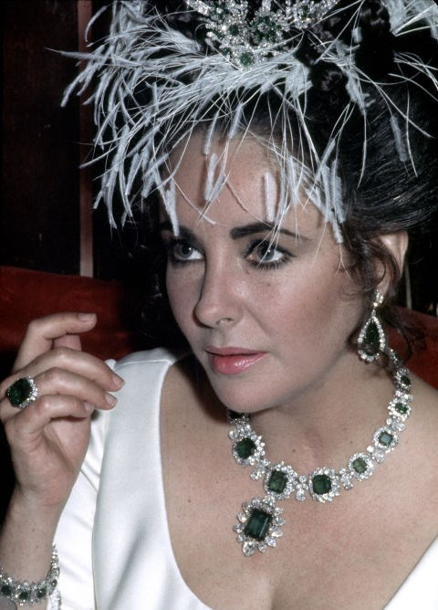 Elizabeth Taylor's diamonds.