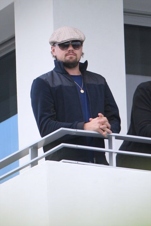 Leonardo DiCpario's newsboy cap.