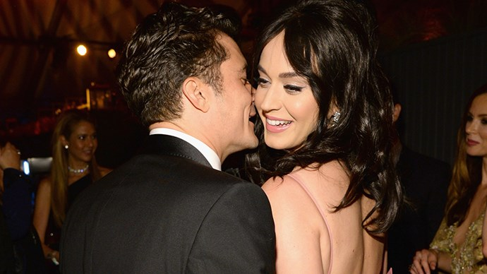 Katy Perry and Orlando Bloom.