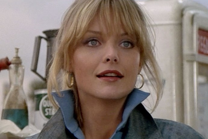 <strong>Stephanie Zinone, <em>Grease 2</em> (1982)</strong><br> Say what you want about the ultra cheesiness of <em>Grease 2</em>, but you've got to appreciate the direct hustle of Stephanie Zinone (Michelle Pfeiffer). Stephanie, who worked in her family's auto-shop/gas station was so in love with motorcycles and the men that rode them, that to not ride a bike was a dating deal breaker. Hell, the whole premise of the film is about a man who learns to ride a bike just to date her. BOSS.