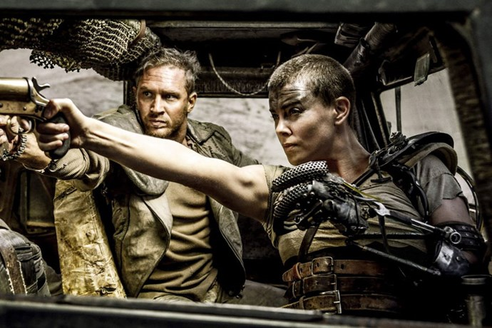 <strong>Max Rockatansky and Imperator Furiosa, <em>Mad Max</em> (1979) and <em>Mad Max: Fury Road</em> (2015)</strong><br> Max's (Mel Gibson, then Tom Hardy) beloved Interceptor is up there as one of the most iconic cars in cinematic history, and thus, so is he as one of the sexiest petrol-heads of all time. However, in the most recent incarnation it was also Imperator Furiosa (Charlize Theron) who got our attention as a bad ass, auto-motive boss. Smart, tough and sexy.