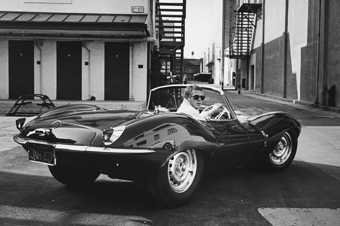 """<strong>Steve McQueen</strong><br> Sitting at number one, Steve McQueen, or as he was known as """"The King of Cool"""" is arguably the sexiest celebrity car and motorbike enthusiast who ever lived. He starred in iconic car flicks such as <em>Le Mans</em> and <em>Bullitt</em> and had a huge collection of Porsches, American cars and a very cool e-Type Jaguar, as well as several super hot bikes."""