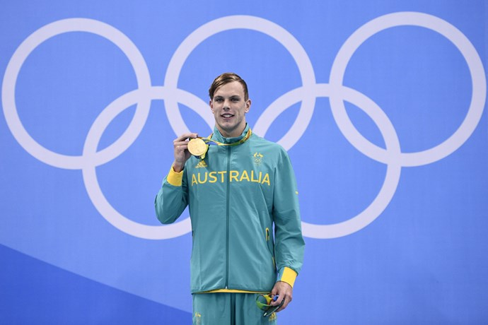 <p><strong>Australia:</strong> $20,000 AUD (though some reports have it as US$126,000). <p>Pictured: Kyle Chalmers after winning the men's 100m freestyle event.
