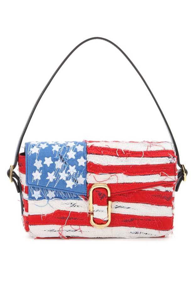 "Bag, $2875, <a href=""http://www.mytheresa.com/en-au/american-flag-shoulder-bag-588486.html"">Marc Jacobs via mytheresa.com/</a>"